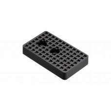 微型氣缸用擋板.方型.黑色