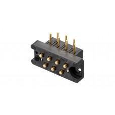 探針連接器(OX-SS型)焊接式.夾具側
