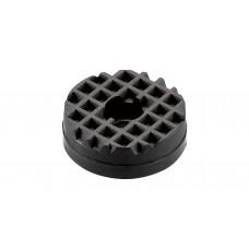 微型氣缸用擋板.圓型.黑色.Φ25